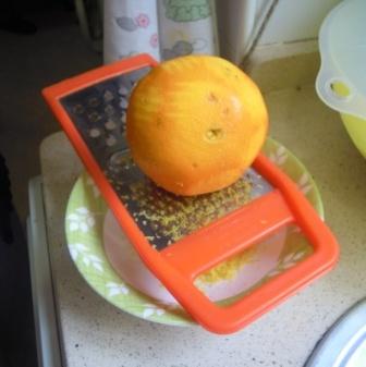 ralladura naranja