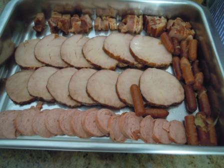 carnes...en bandeja cocina