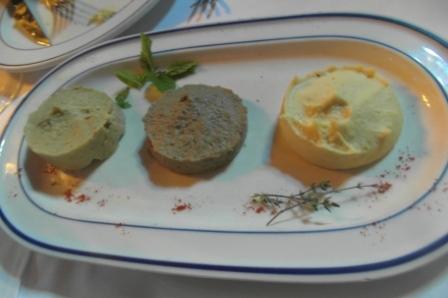 babaganoush, humus