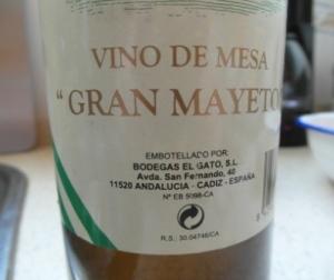 vino Gran Mayeto