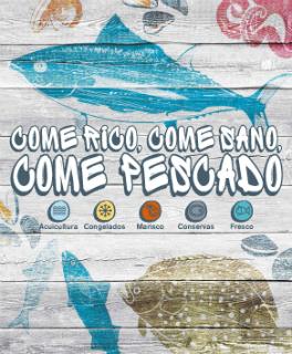 Imagen detalle cartel campaña pescado